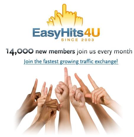 Сайт EasyHits4U.com