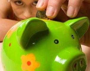 Копить деньги, откладывать часть зарплаты.