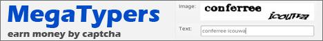 Зарубежный сайт для заработка на капче megatypers