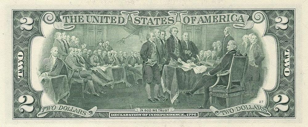 2 доллара США
