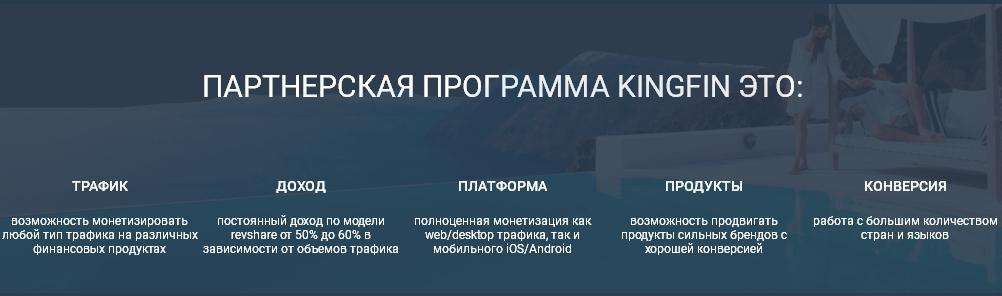 Партнерская программа КингФин